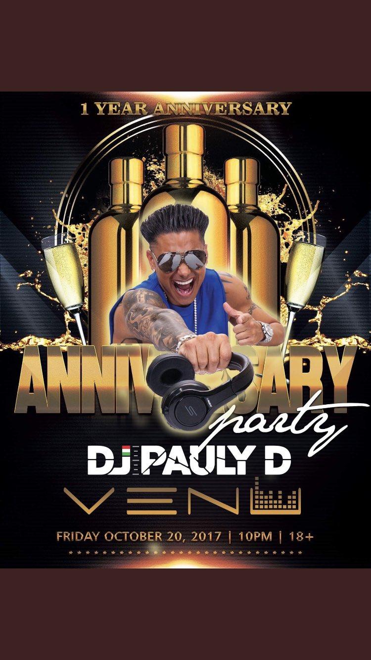 Buffalo NEW YORK FRIDAY OCT 20th @VenuBuffalo !!! Come Party With Me !!! #djpaulyd #paulyd https://t.co/IaXT8JscZM