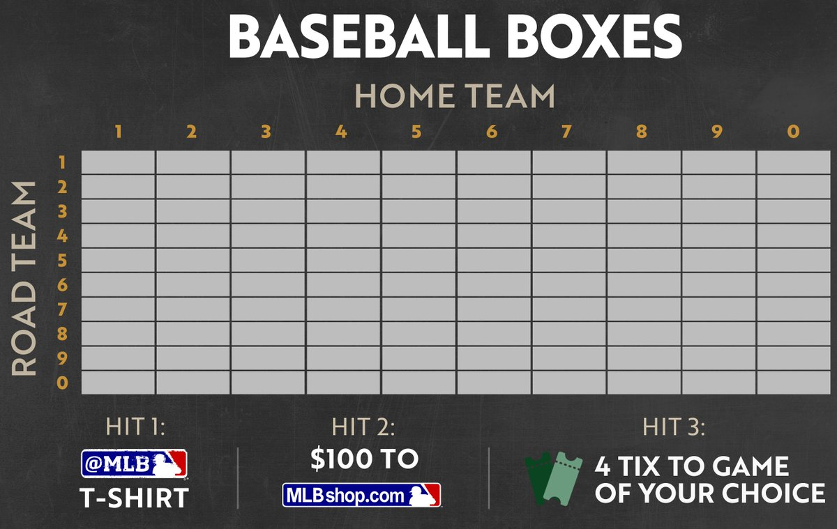 100 random followers who retweet THIS TWEET will enter ou #BaseballBoxesr  grid for all NLCS games; results posted Friday.       And … GO!