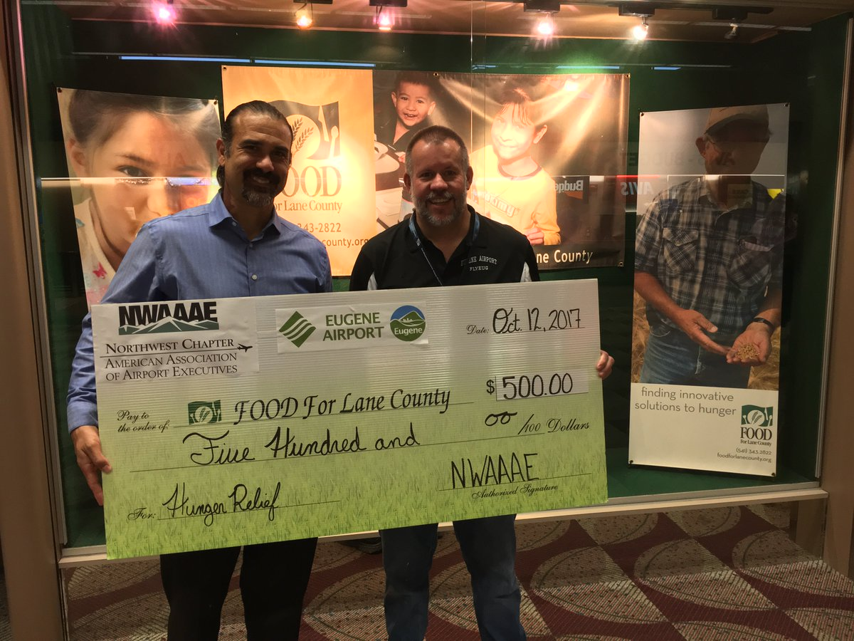 FOOD For Lane County Added NW Chapter AAAE NWAAAE