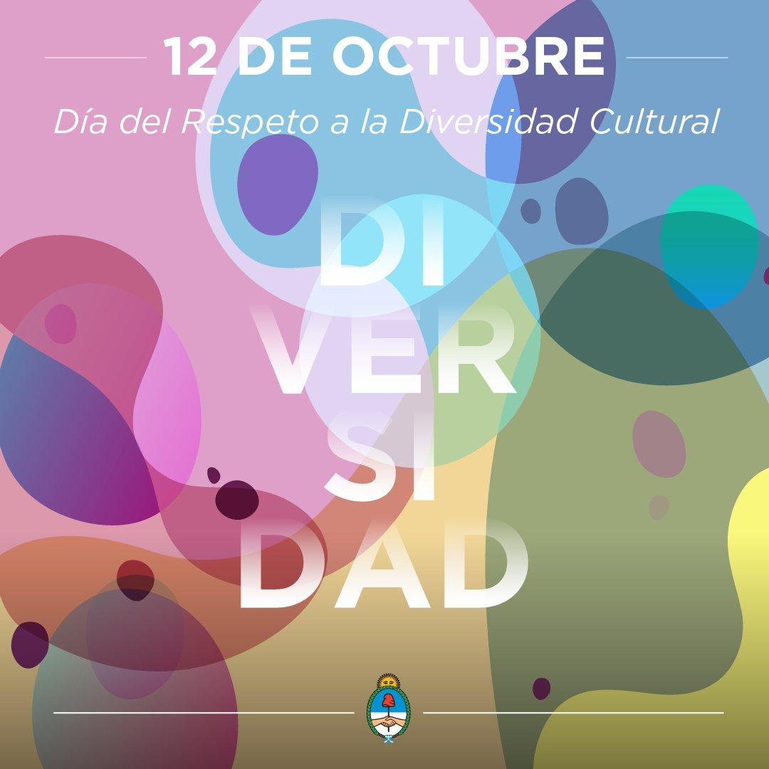 Celebramos el Día del Respeto a la #DiversidadCultural, una oportunida...