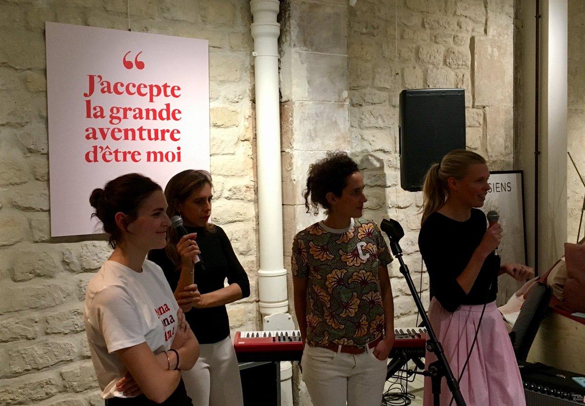 Très heureuse de participer au lancement de #MONA by @My_Little_Paris «un lieu éphémère pr inspirer les femmes»  #AXAaimeMONA pic.twitter.com/hKHnwVUfcj