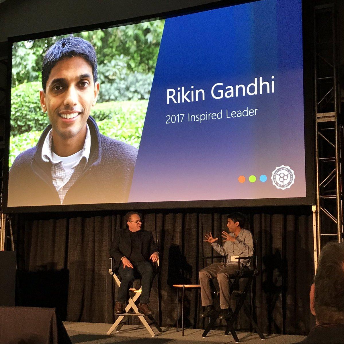 Finally @rikingandhi  ... Microsoft Alumni Network - Official 2017 Inspired Leader   #MSFTalum with @RichardJKaplan<br>http://pic.twitter.com/RBimMzLFDg