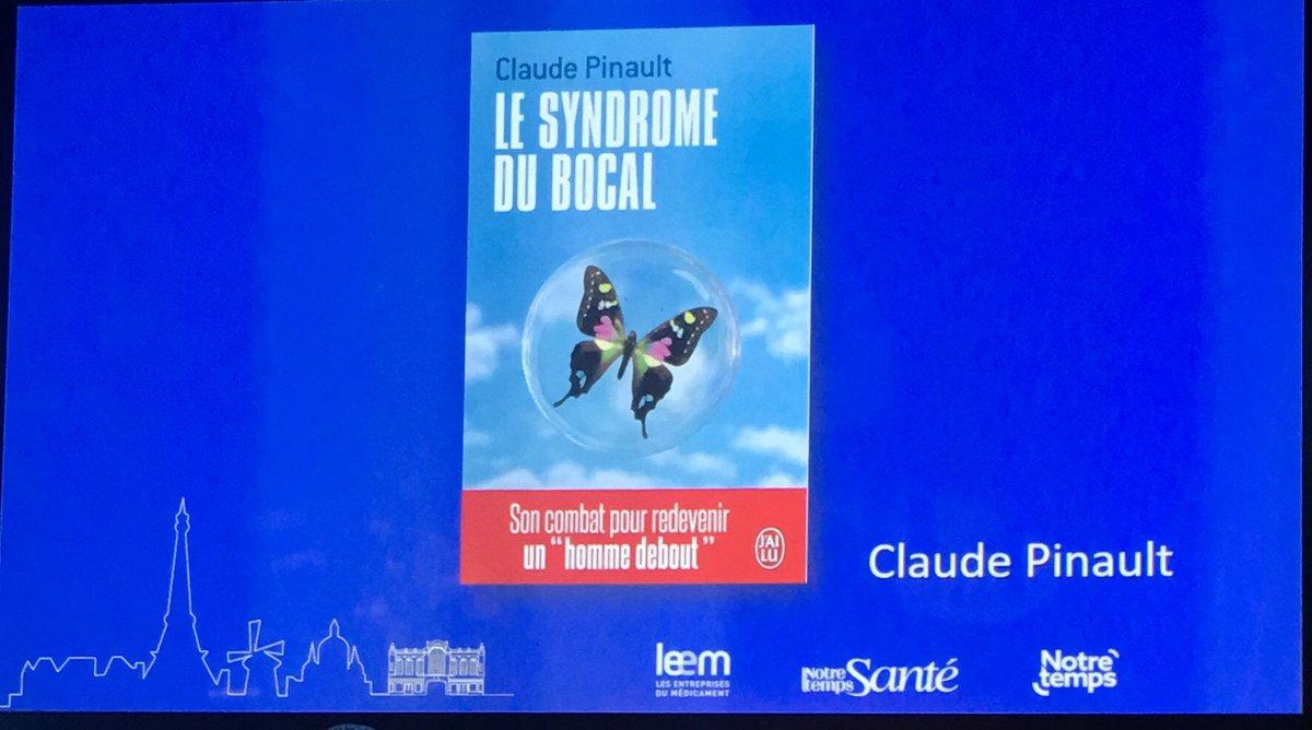 Claude Pinault #Parolesdepatients souligne l'importance des mots pic.twitter.com/R3ThzcCR11