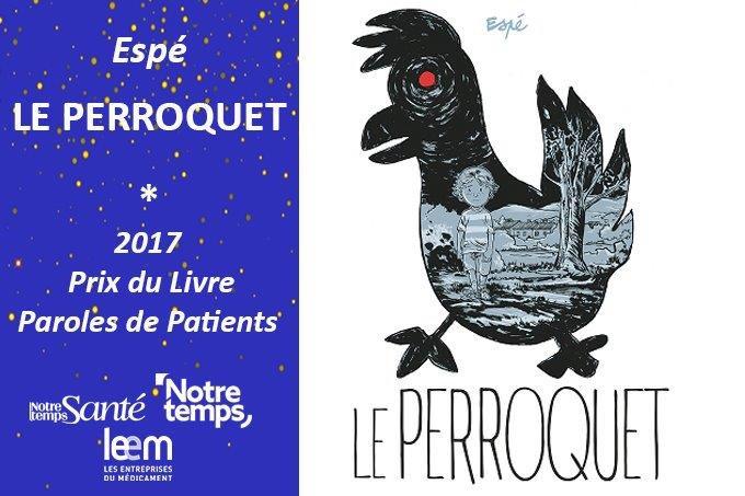 [Révelation] Prix du Livre 2017 #ParolesdePatients  http:// dai.ly/k40HdrEbWAdw5I p2fhv  … pic.twitter.com/bSjKXU8jTY