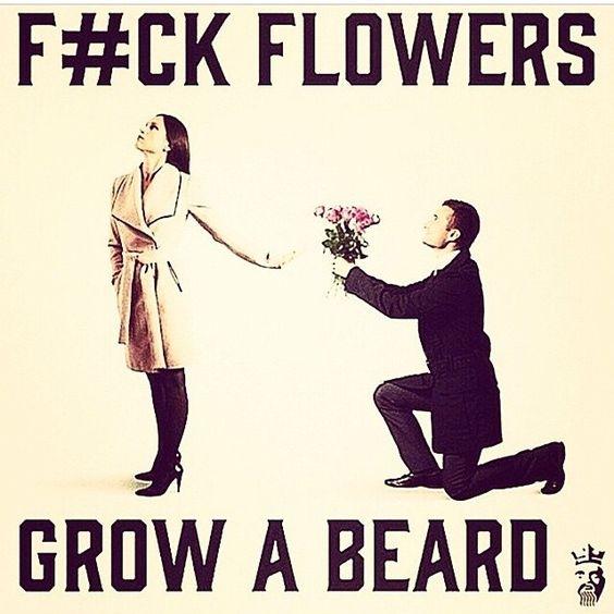 FUCK FLOWERS ...   #beard #beards #bearded #beardloves <br>http://pic.twitter.com/ITxrztdI69
