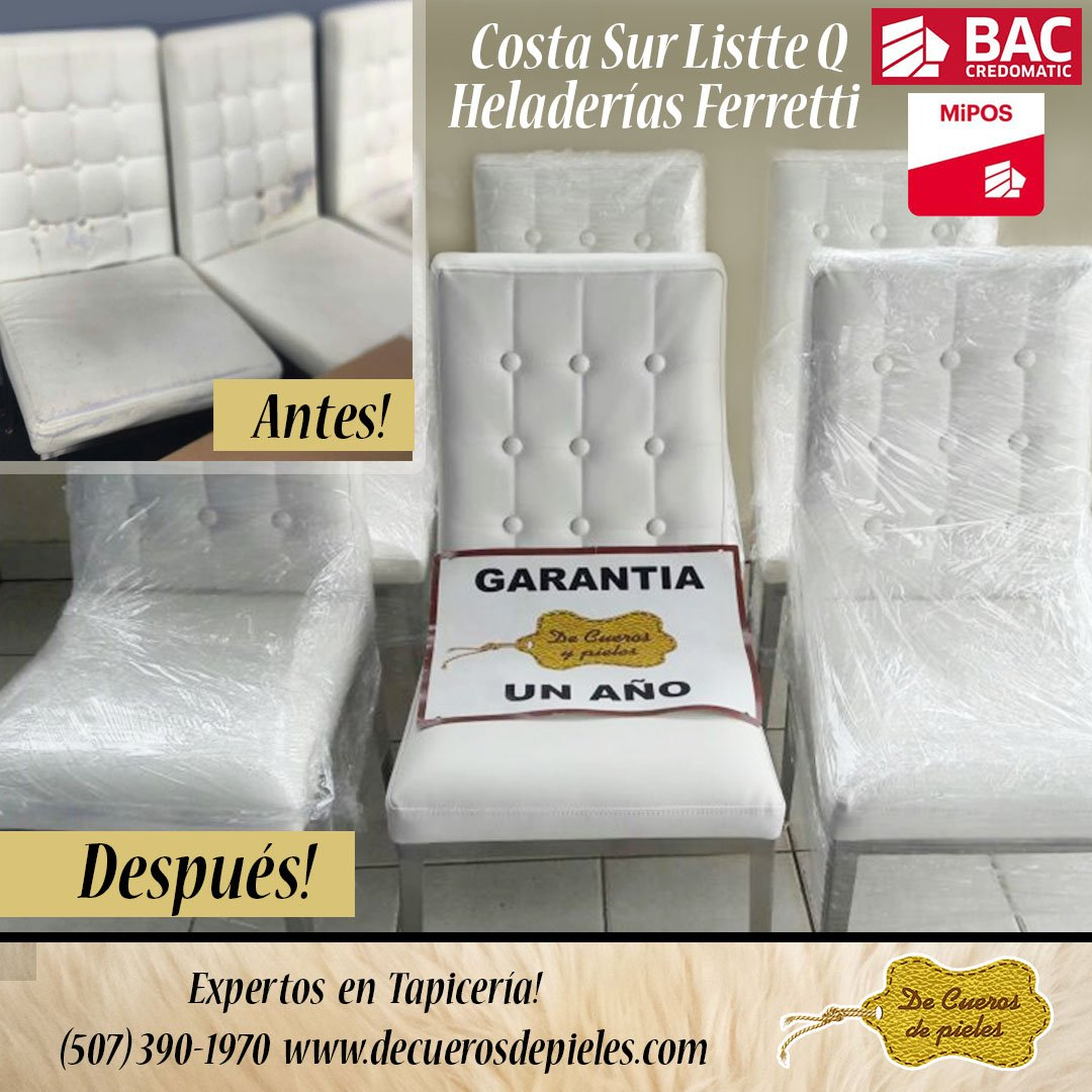 Tapiceria Twitter Search # Muebles Heladeria