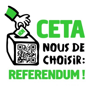 CETA nous de choisir ! #CETA. #ReferendumCETA pic.twitter.com/jTxdRB7kbx
