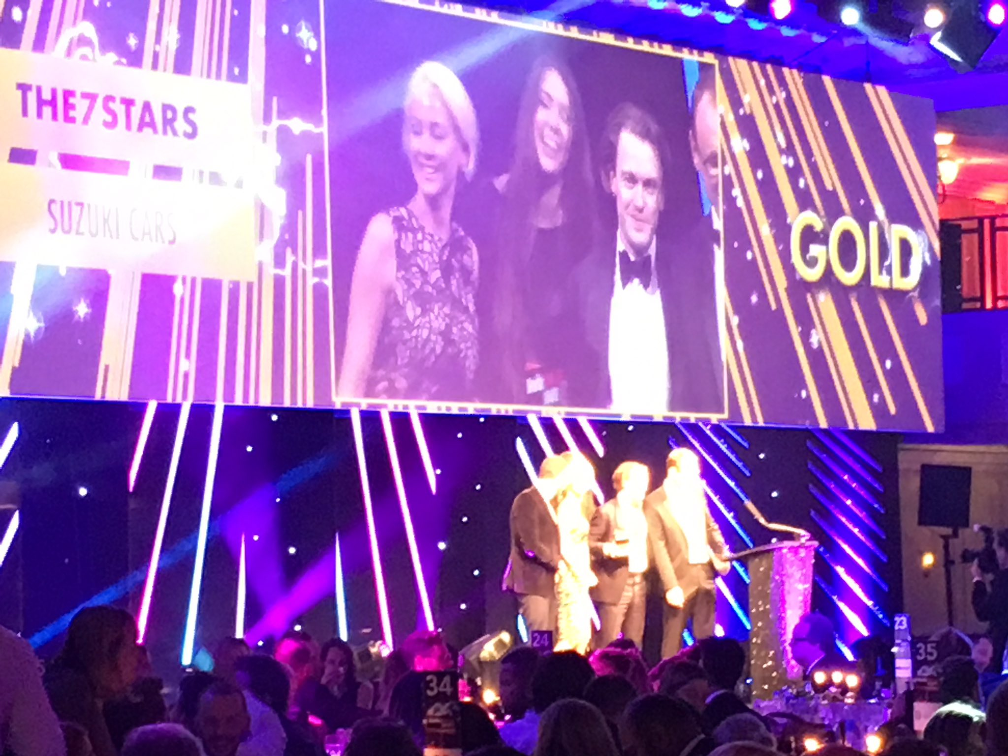 Another Gooooooold! #MediaWeekAwards Long Term Media Strategy @IcelandFoods 🙌🎉🥂 https://t.co/Kebjvc8hop
