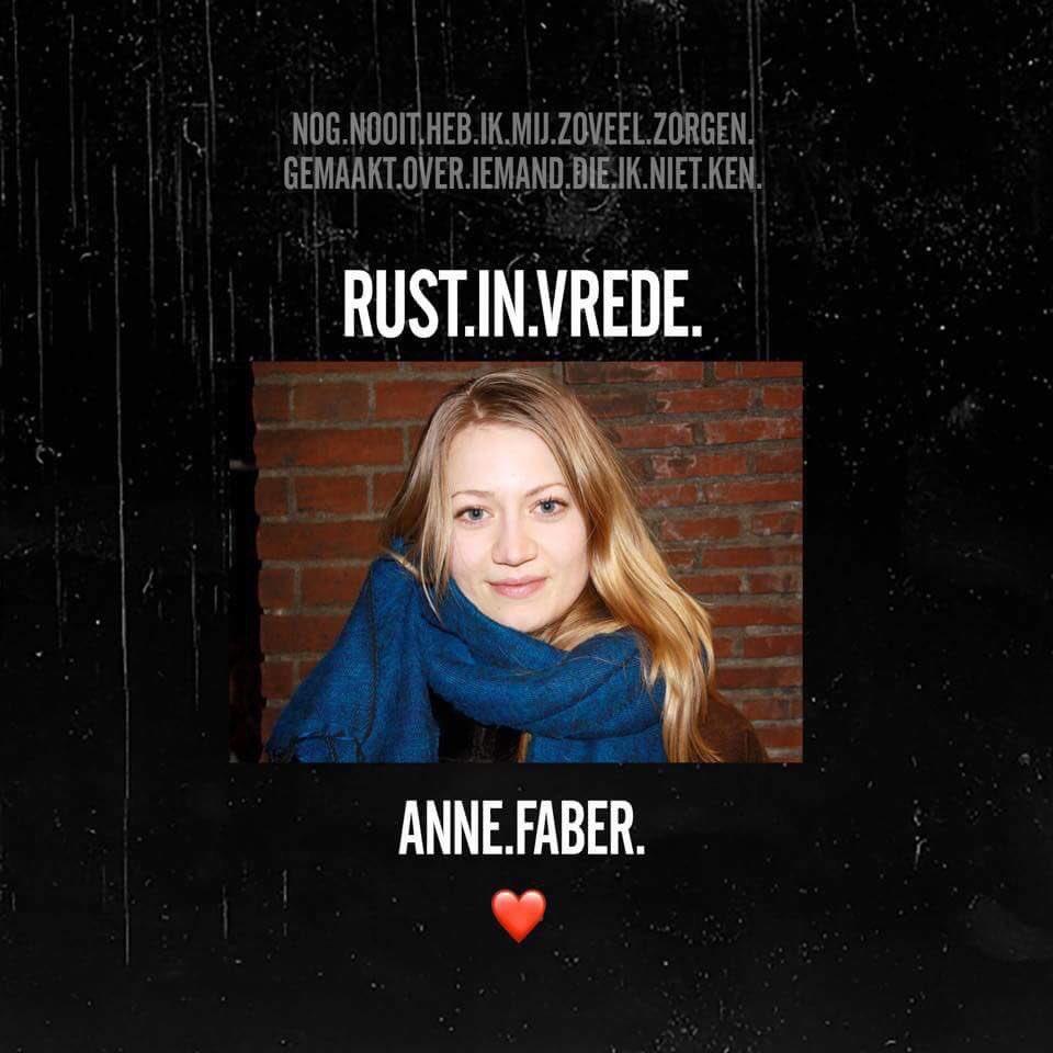 Rust zacht Anne #annefaber https://t.co/...