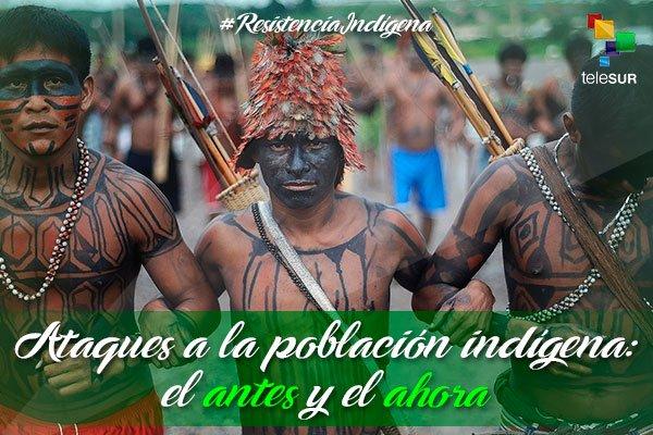 #ResistenciaIndígena El 12 de octubre la...