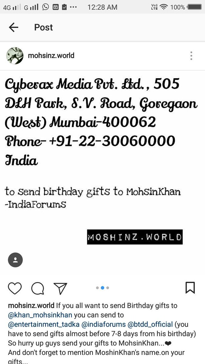 Manushishah On Twitter Addresses For Sending Gifts To Mohsin His Birthday IshaSum2 RidaSyed5 SoniaSonikhan8 Momo Kaira Deewani