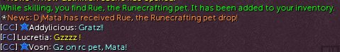 Hey my first skilling pet! :) My favorite one at that! #Rue <br>http://pic.twitter.com/93ky1b03fc