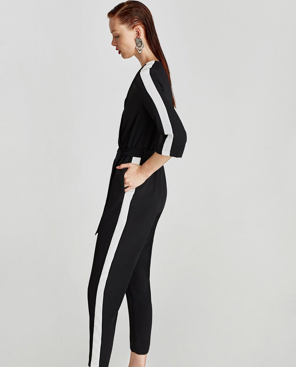 ZARA please make a jumpsuit with 3 bands so I can go to Squat Slav  Razpaljotka without paying 3€ fine for being amerikanski spion  61ca911a1fe05