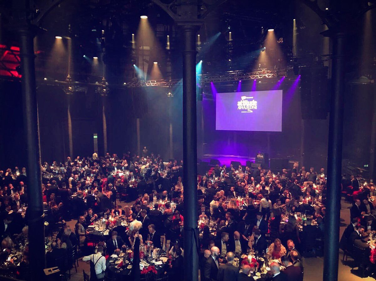 Dinner is served! But who'll be picking up accolades at this year's #AttitudeAwards? There's not long to wait... https://t.co/N4jZ1UaXKn