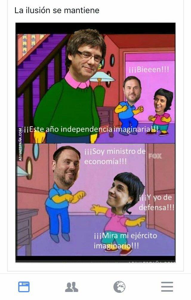 La República Catalana son los padres. ¡F...
