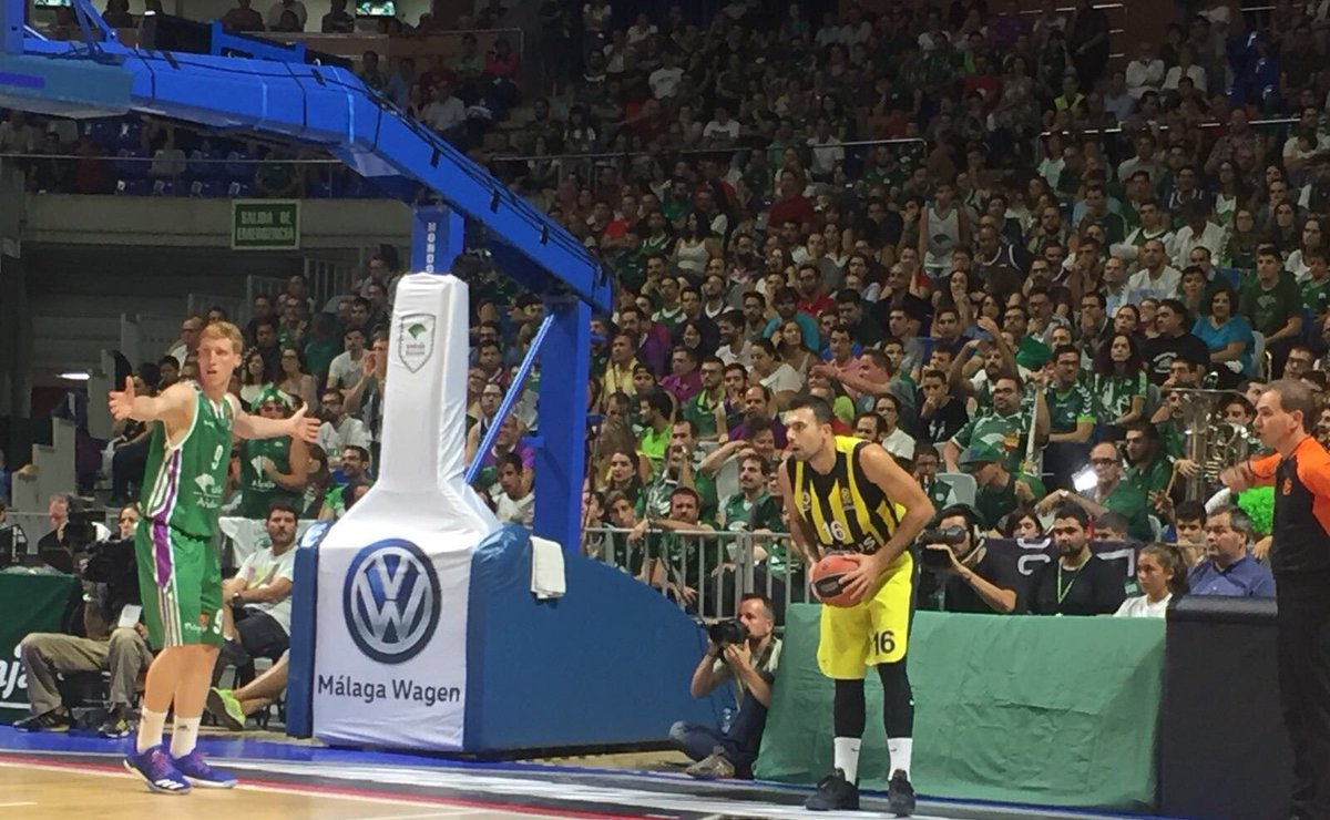 İlk Yarı Sonucu | @unicajaCB – Fenerbahçe Doğuş: 36-41 #NeverEnough #U...