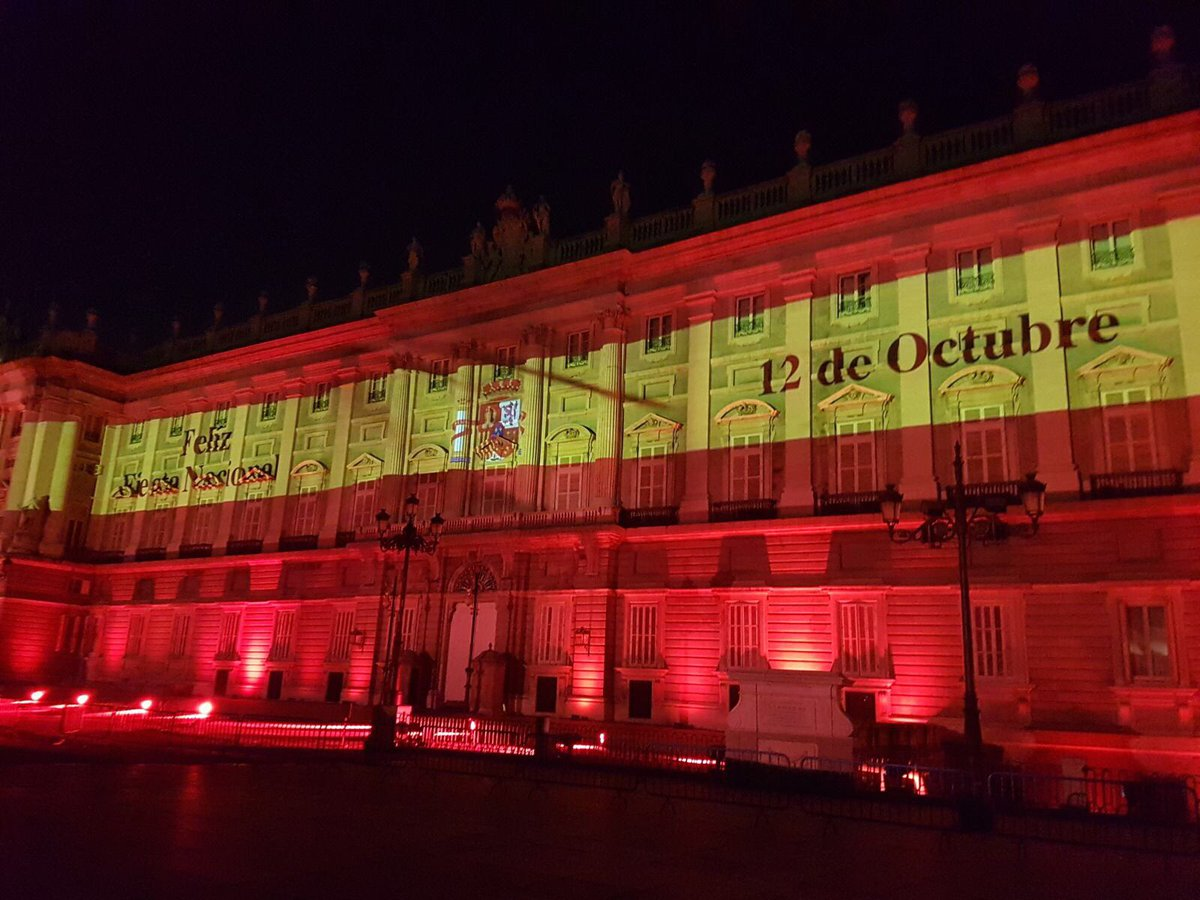 El Palacio Real, hoy 😍 #madrid (fotos de...