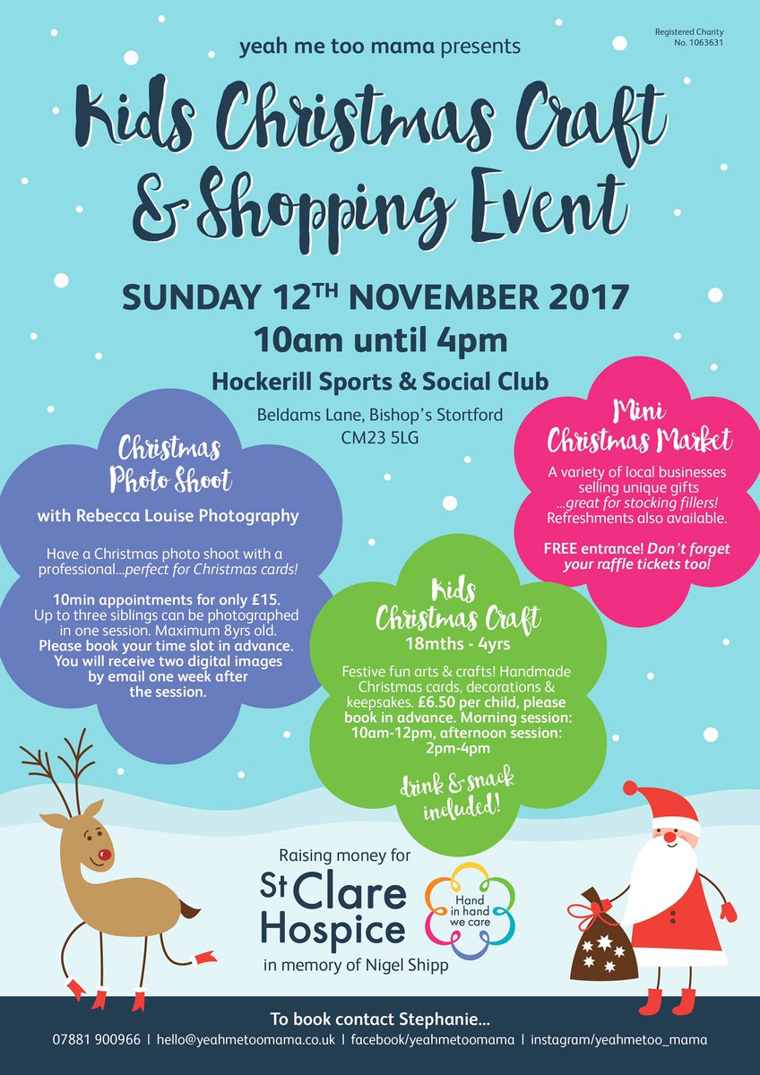 Another design donation for a fantastic cause...get your Christmas on!!  #stortford #design #christmas #shopping @hospicestclare<br>http://pic.twitter.com/ZhNIZka8yW