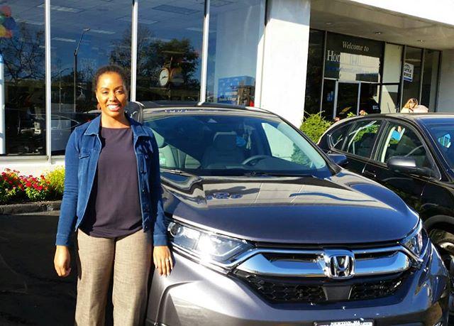 Please help us congratulate Ms. Schmiedl ! Congrats on your new 2017 Honda CRV ! #hondavillage #honda #congrats  http:// click.serpcom.com/Pv8tS7  &nbsp;  <br>http://pic.twitter.com/Qs9Ka7PyE7