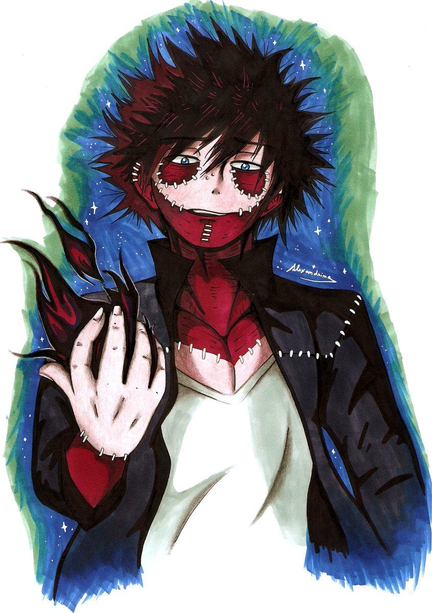 I mean dabi😅i hope you like it😘 anime manga illustration drawing fanart dabi bokunoheroacademia bnha https t co qsoikjupui