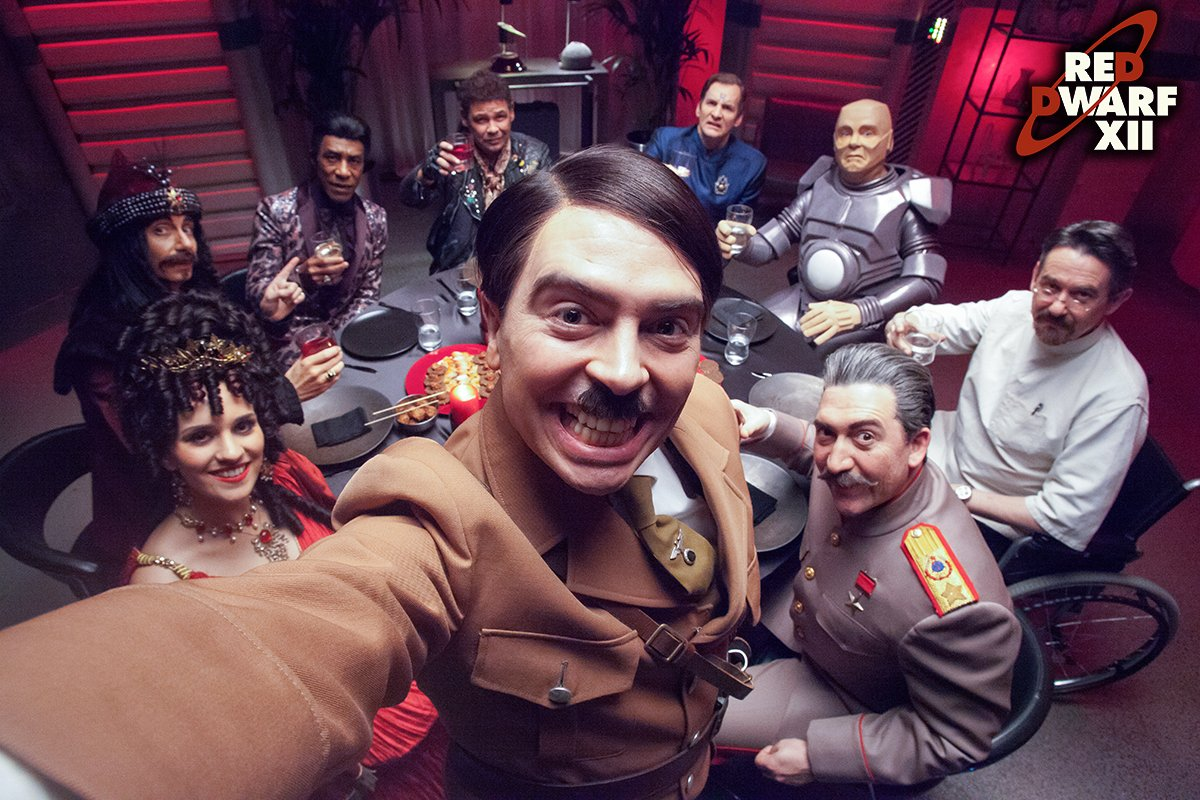 SELFIE! #RedDwarfXII https://t.co/C9D5YLmnrC