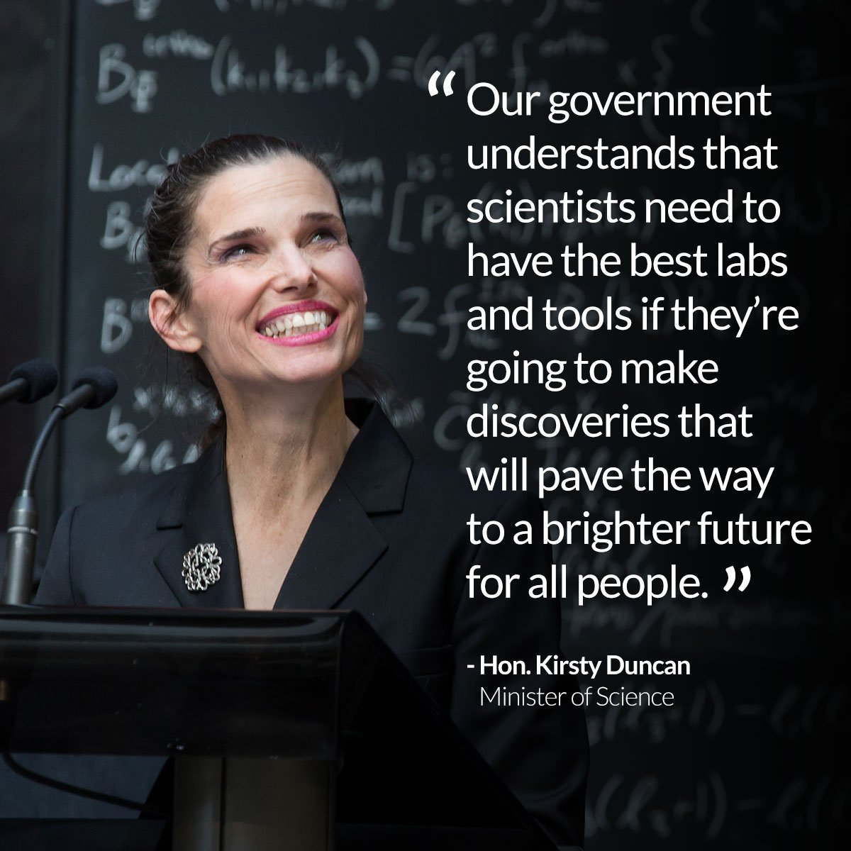 @KirstyDuncanMP announced those selected for the Canada Foundation for Innovation's Innovation Fund #cdnsci  @yorkuniversity @YorkUPresident<br>http://pic.twitter.com/ZLVxdFe2sM