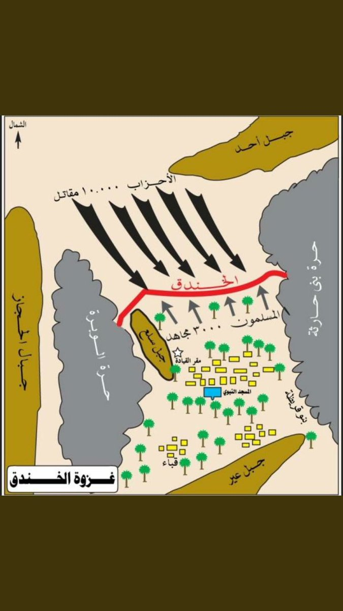 غزوة الخندق 5 هـ ... DLA3moHVwAEEgX0