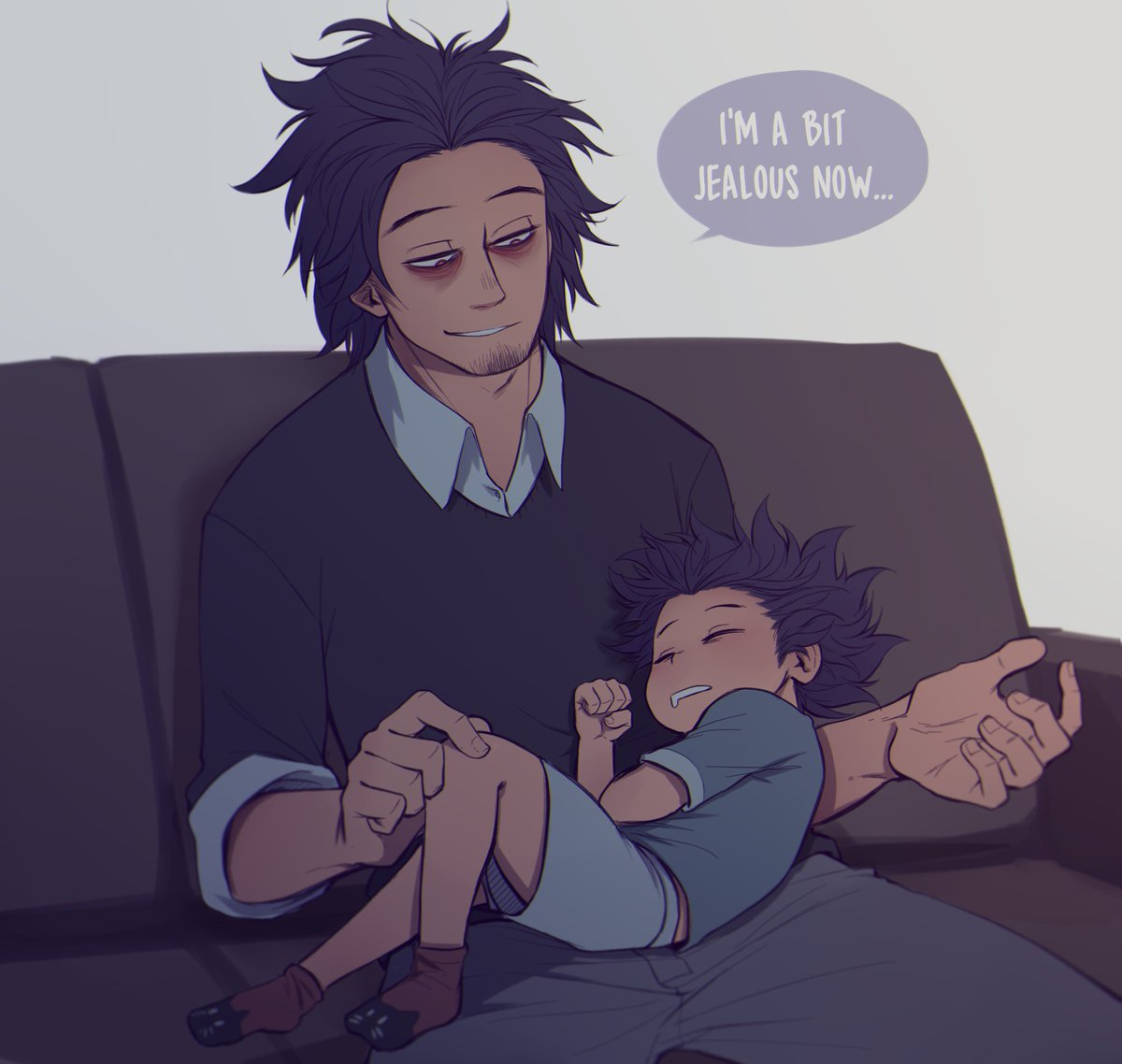 Hitoshi has a good dad ♡