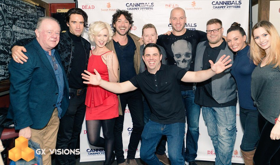 RT @CannibalsCF: We need a bigger banner! Photobombed by our Director. #ukfilm #horror #comedy https://t.co/ijwCBEwhjN