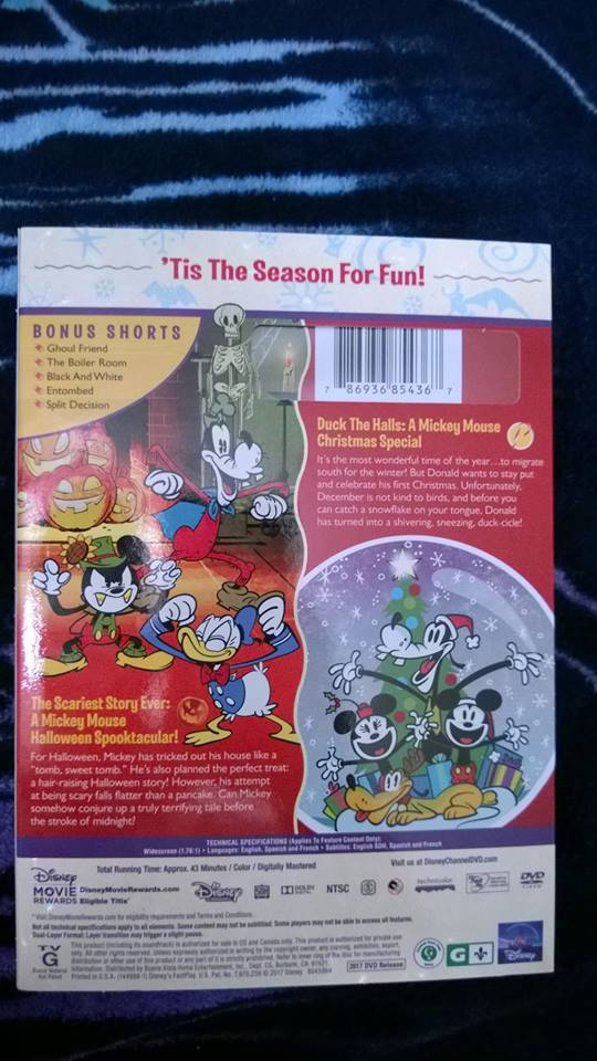 Matthew Hopkins On Twitter Look What I Got On Dvd Mickey Mouse Merry And Scary Mickeymouseshorts Mickeymouse Disney Disneytva