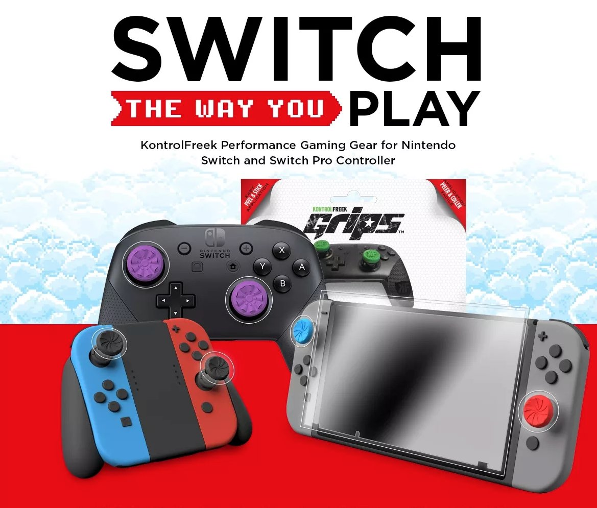 Elevate On Twitter Switch The Way You Play With Kontrolfreek 5 Joystick Turbo Improve Your Gaming Experience Nintendo