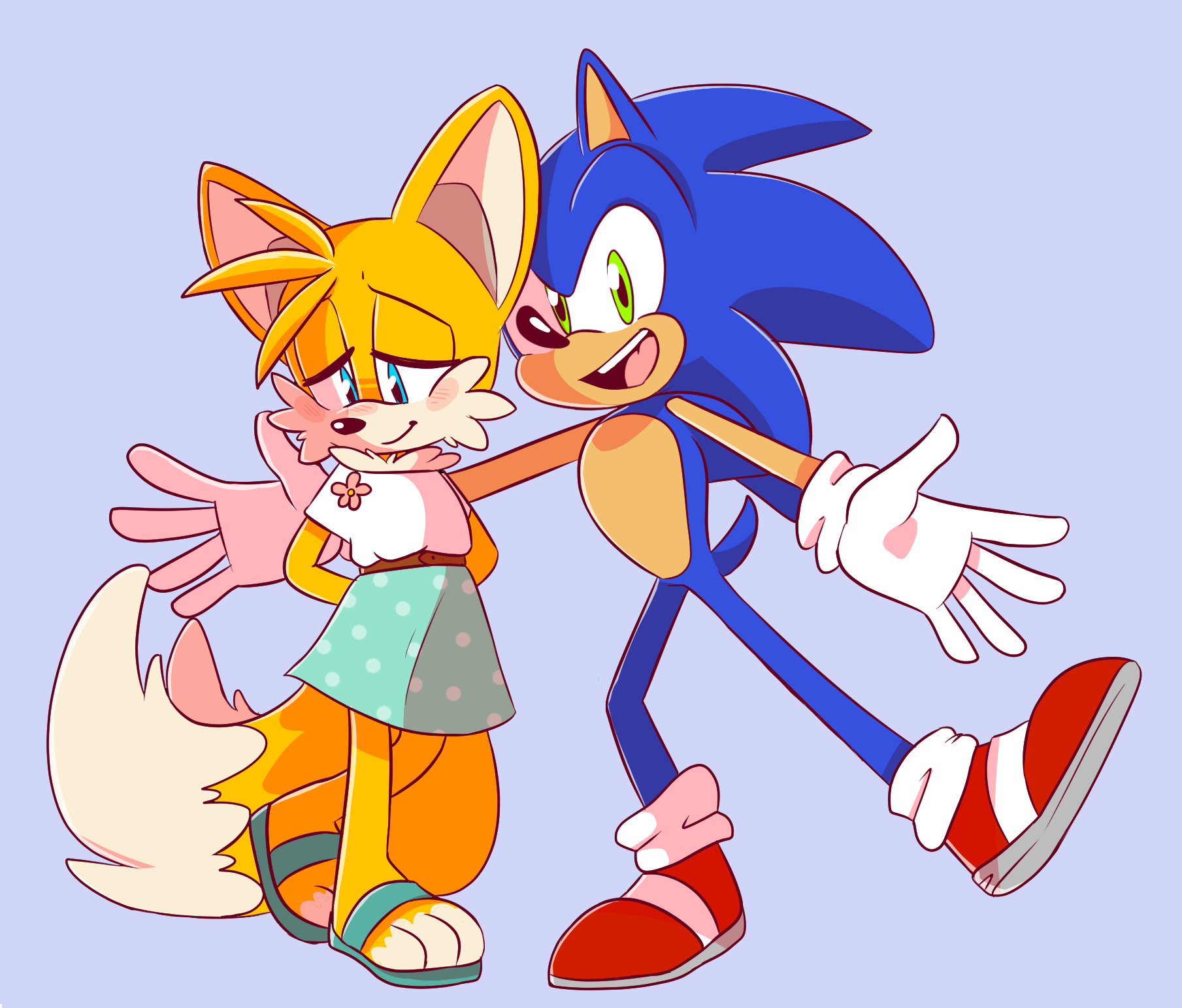 from Jimmy gay sonic and tails