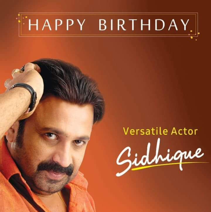Happy Birthday #Siddique <br>http://pic.twitter.com/m0BqVME1JV