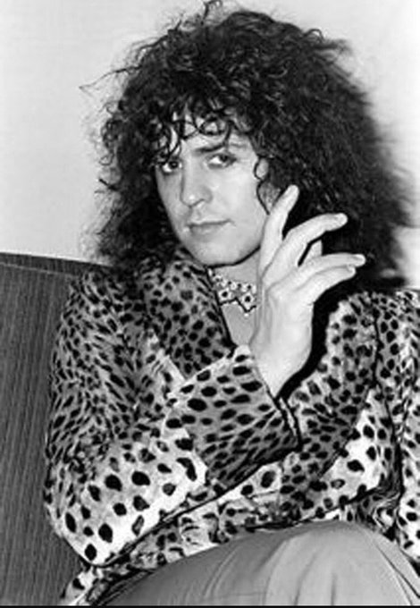 Happy 70th Birthday Marc Bolan we miss you sweet angel with