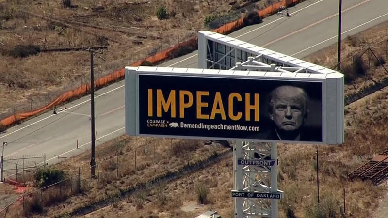 Billboard calling for Pres. Trump's impeachment goes up in California https://t.co/jyl5TQu3Ry