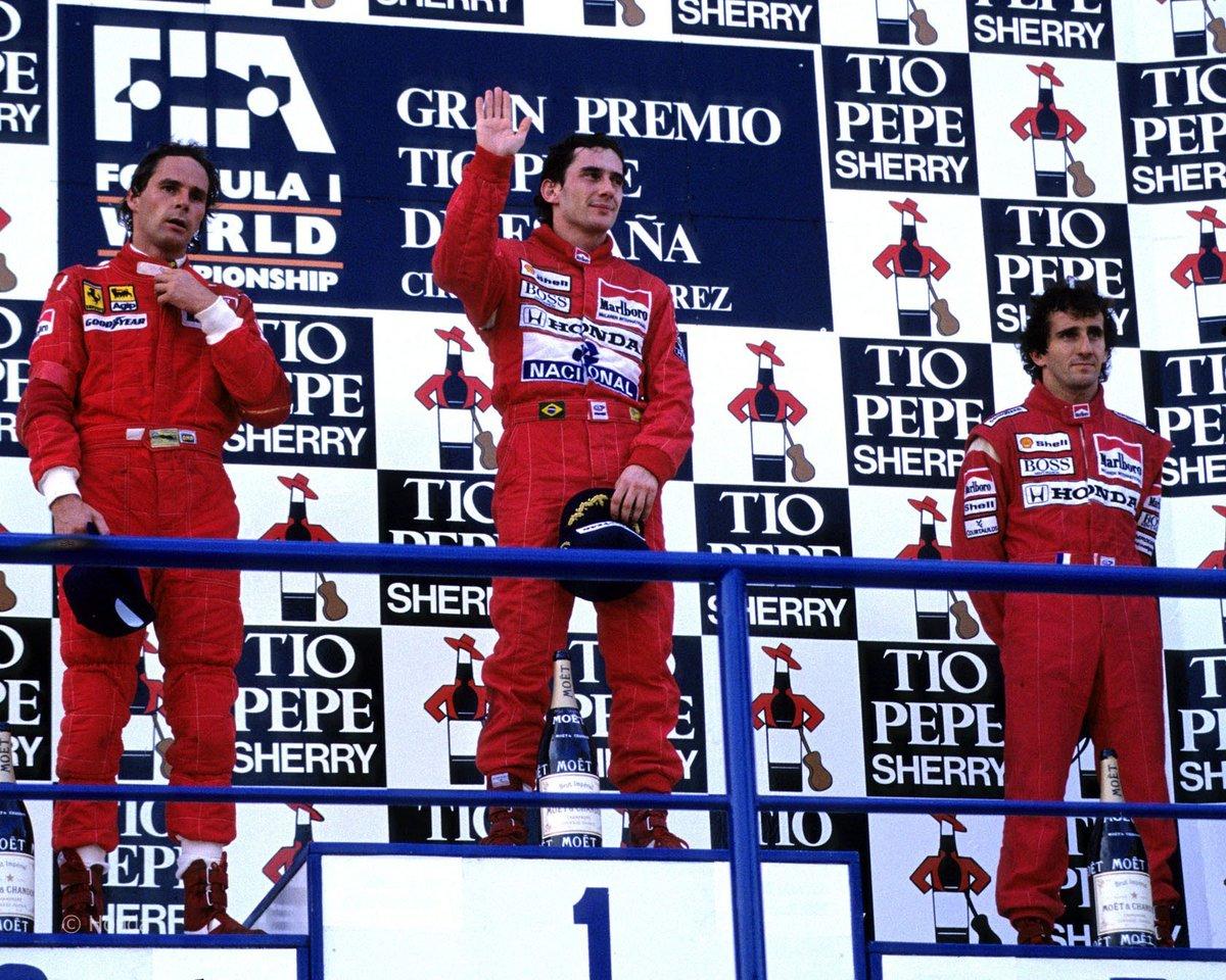 1º de outubro de 1989 - GP da Espanha Ha...