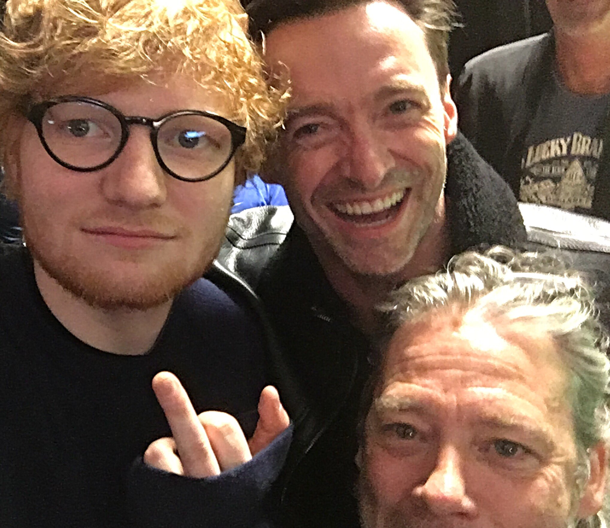 So @Dexfletch and I are minding our business when ... @edsheeran https://t.co/84tG6ihMJq