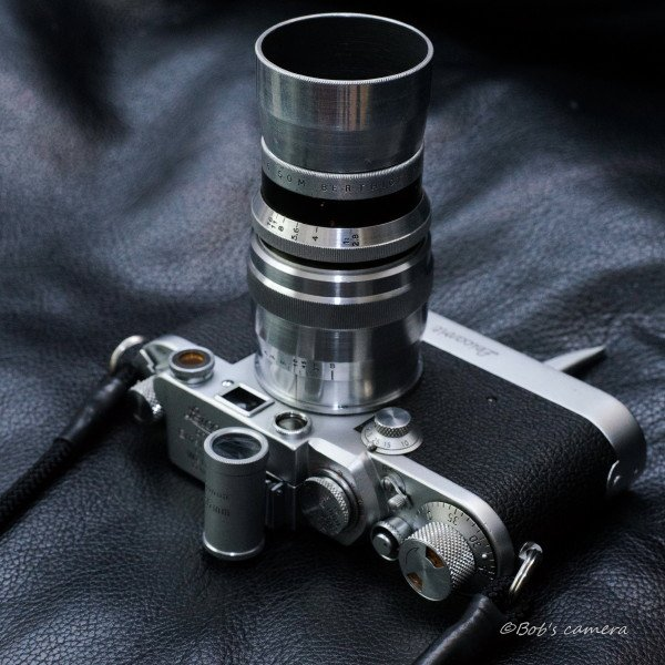 黒ズノーとベルチオ75/2.8 今日は外出できないので、レンズの写真を撮って遊んでる。