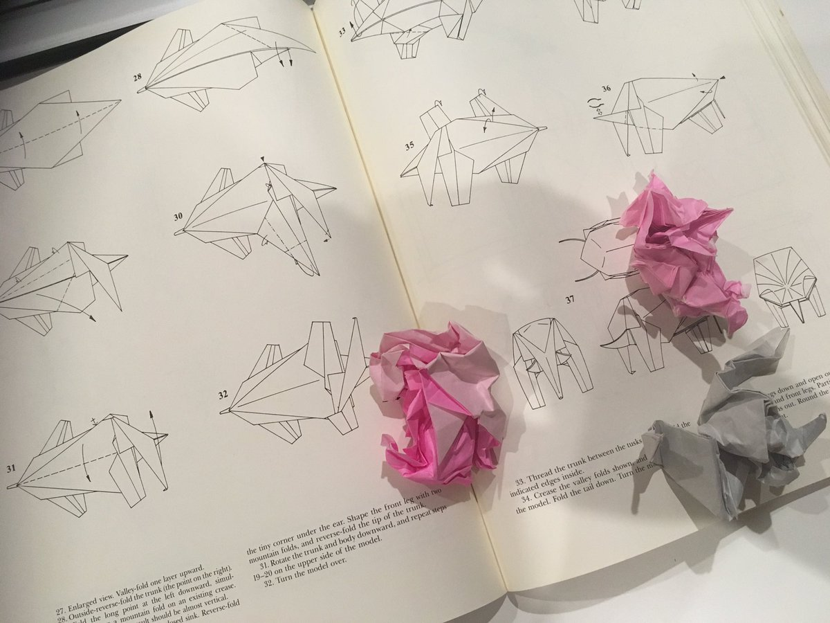 J Kenji Lopez Alt On Twitter I Pulled Out My 29 Year Old Robert Lang Origami Book And Remembered The Frustration Of Attempting More Difficult