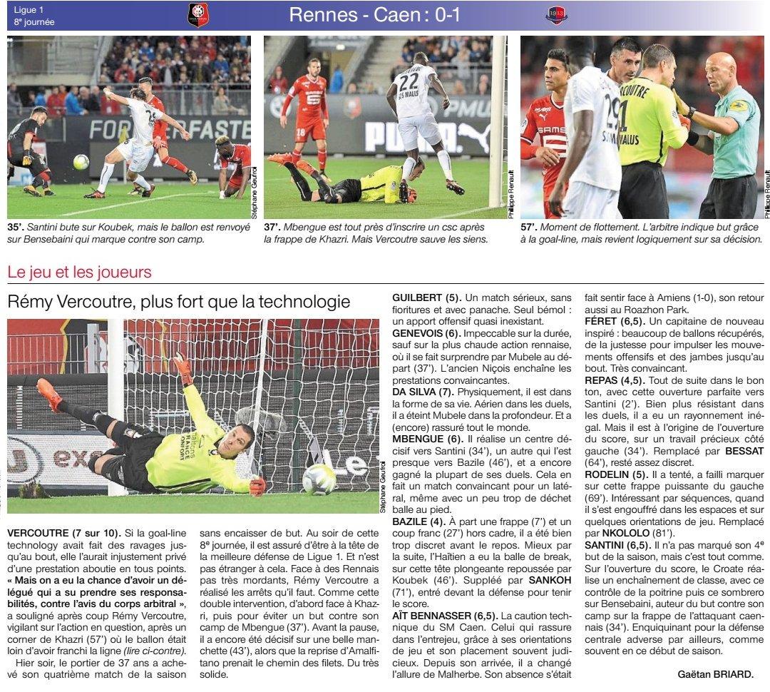 [8e journée de L1] Stade Rennais 0-1 SM Caen DLCM0UdXUAA56Ji