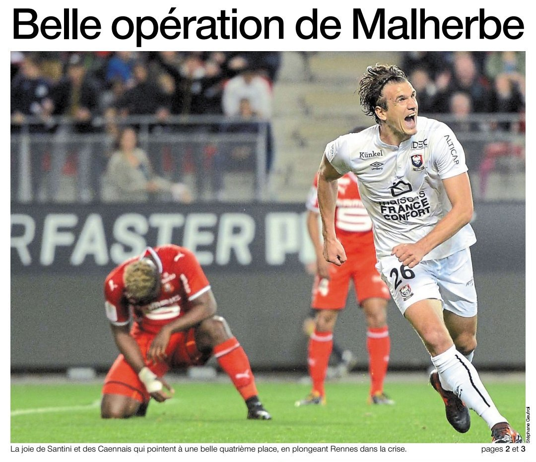 [8e journée de L1] Stade Rennais 0-1 SM Caen DLCMv30W0AEuSGF