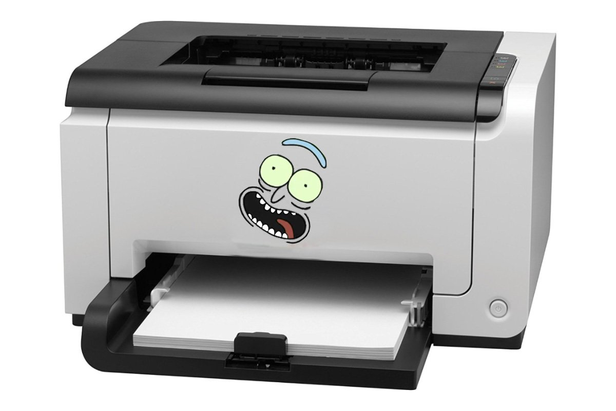 Image result for printer rick
