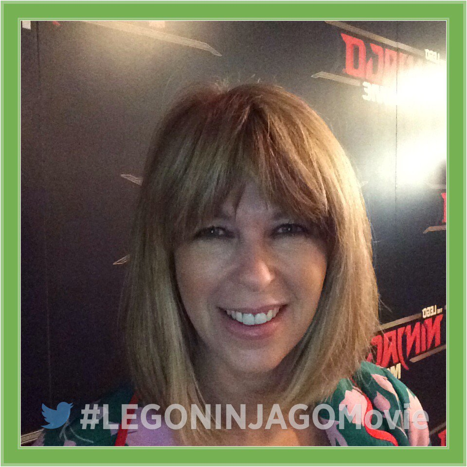 RT @WarnerBrosUK: It's time for @kategarraway to get a piece of The #LEGONINJAGOMovie action! https://t.co/E20DubxFIm