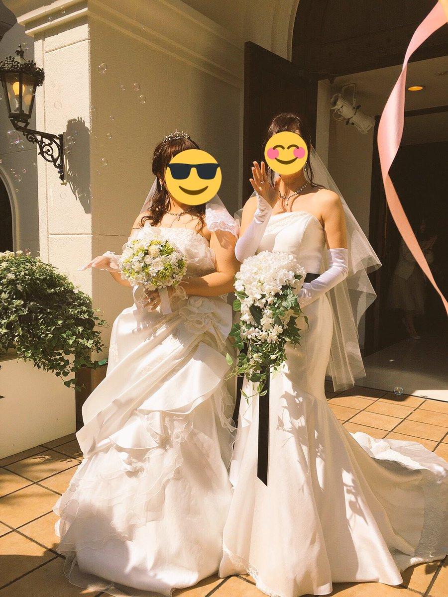 結婚式してきたよ‼️‼️ 夢のようだった…パートナーを泣かせることもできたし‼️ ニヤリ これからもずっと一緒にいようね。