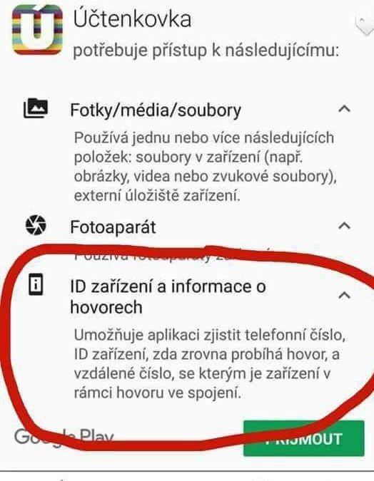 Michal Kucera On Twitter Prehled O Vasich Telefonatech V Aplikaci