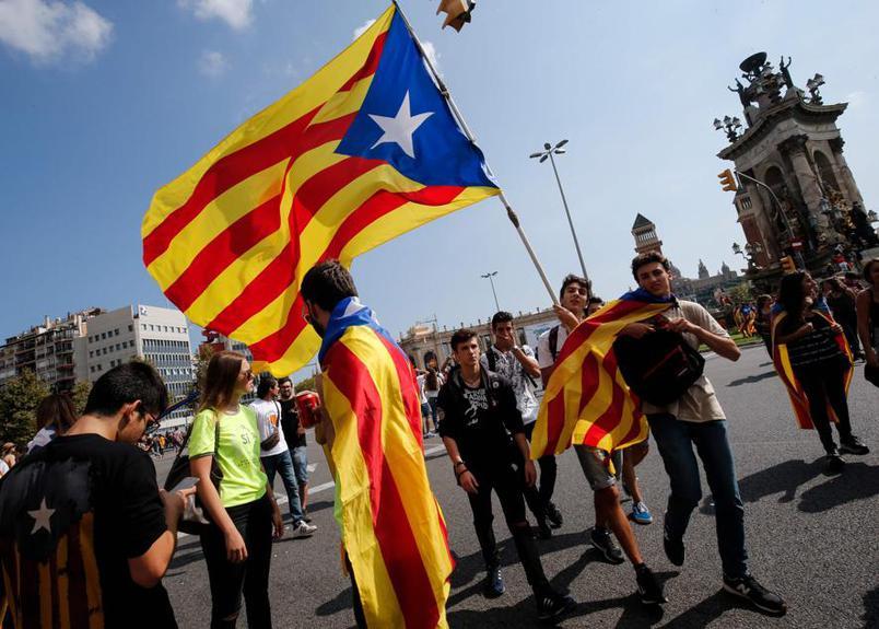 #CatalanReferendum - a Catalunha é uma das regiões mais ricas da Espanha, representando 19% do PIB espanhol. (Foto: Pau Barrena/AFP)