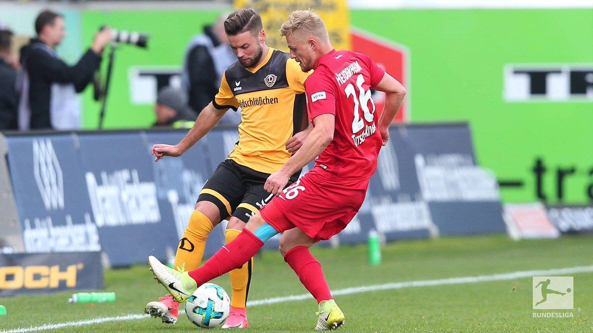 Auch in der 2. #Bundesliga ist gerade die Halbzeit. Die Zwischenstände: #FCHSGD 0:1 | #SVSSSV 0:0 | #EBSSTP 0:0
