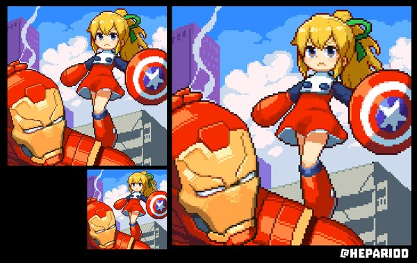Too bad we won't have any more #marvelvscapcom games in #pixelart. Sad times!