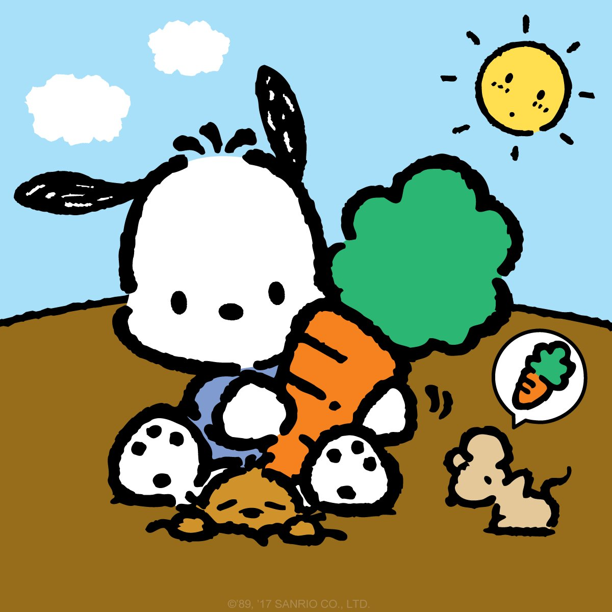 sanrio on twitter quotdid you know that pochacco is a