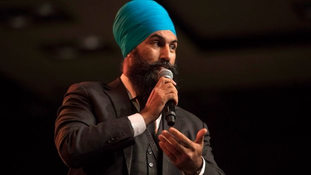 BREAKING: Jagmeet Singh has been voted the new leader of the federal NDP https://t.co/0Lpq0Fngit ^rw